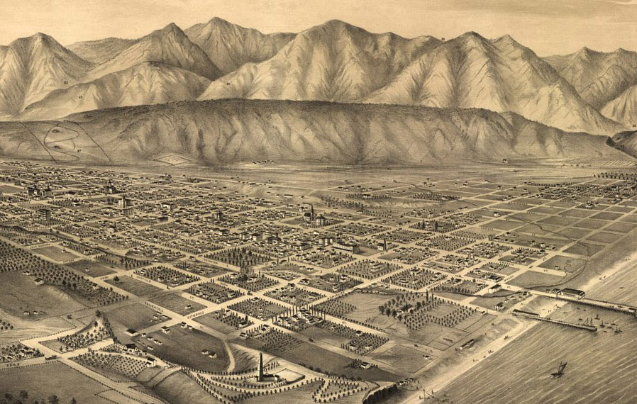 Old image of Santa Barbara