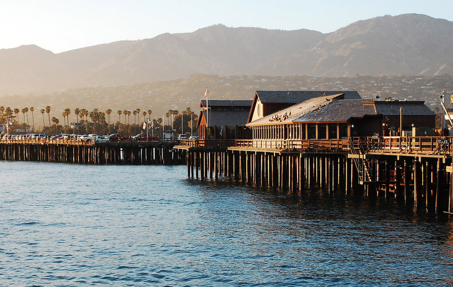 Photo of pier at Santa Barbara