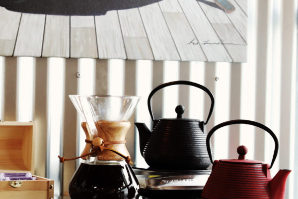 Photo of coffee and teapots
