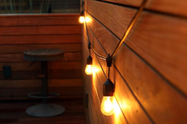 Photo of outside lighting