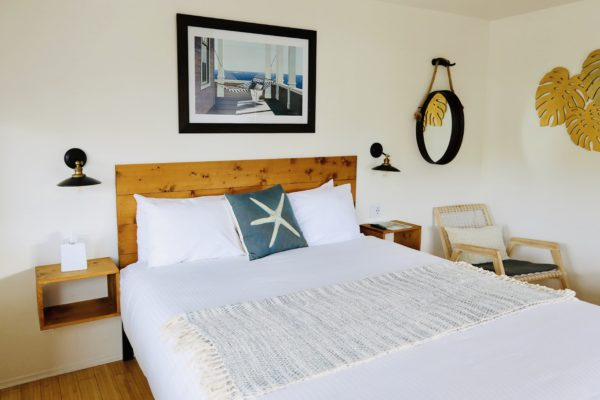 Photo of bed at Haley Hotel