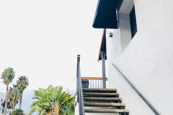 Photo of outside staircase